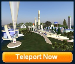 spaceport Uk teleport to Second life